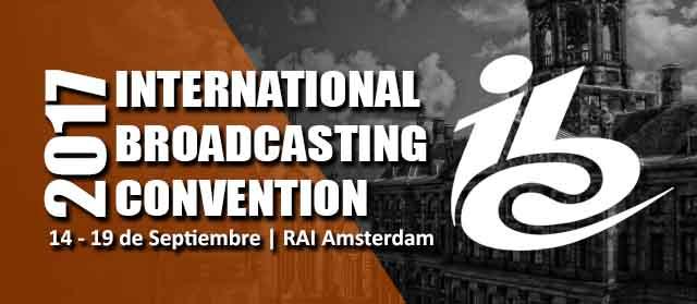 OMB estará en el IBC2017 Amsterdam, en los Países Bajos